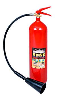 Огнетушитель углекислотный ОУ-10(10л/7кг) без тележки