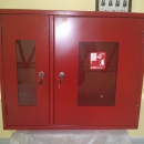 Шкаф ШП- 2х. дверн. со стеклом